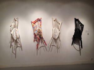 'Lazy Chair' by Yuli Prayitno at the Passion/Possesion exhibition at HKAC.