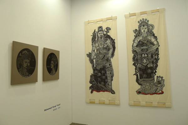 Tomio Koyama gallery showed a number of SEA artists, including this work by Indonesian Ucup and  ...