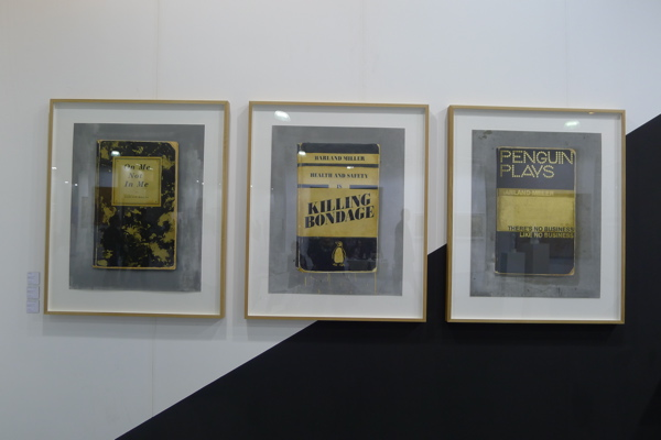 Harland Miller's limited edition prints (Ed. 40) at Other Criteria, Art Central.