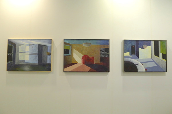 Interiorscapes by Robert Morris, Castelli Gallery, ABHK.