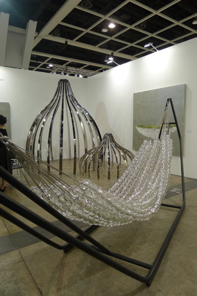 Pinaree Santipak's installation 'Conversation in the Garden' at Yavuz Gallery at ABHK.