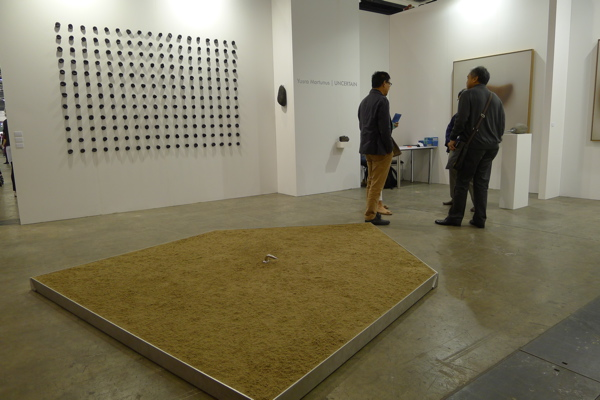 Yusra Martunus's latest series curated by Enin Supryanto at Galeri Semarang, ABHK.