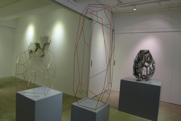 Arik Levy's sculpture at Peking Fine Art in SIDC.
